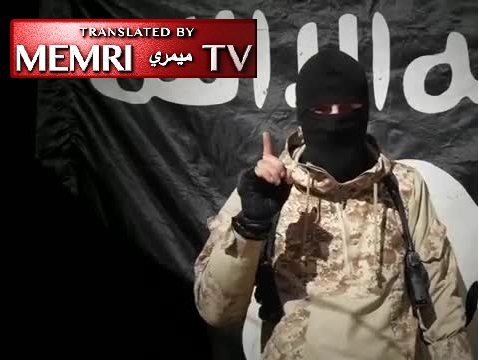 "In New Video, Russian-Speaking ISIS Fighter Declares New ""Battalion,"" Threatens Terrorist Attacks in Russia"